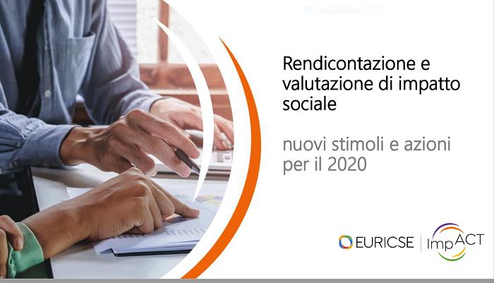 WEBINAR  EURICSE BILANCIO SOCIALE 22/07/2020