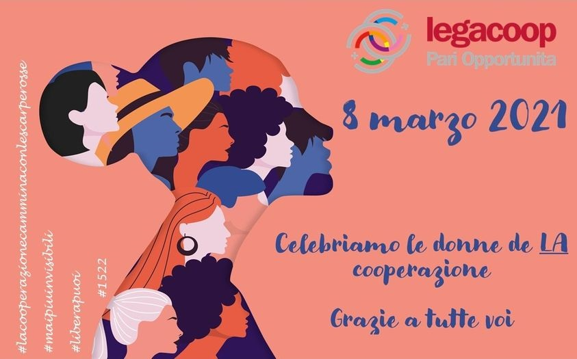 8 marzo: #MaiPiùInvisibili, il sostegno di Legacoop alla campagna contro la violenza sulle donne