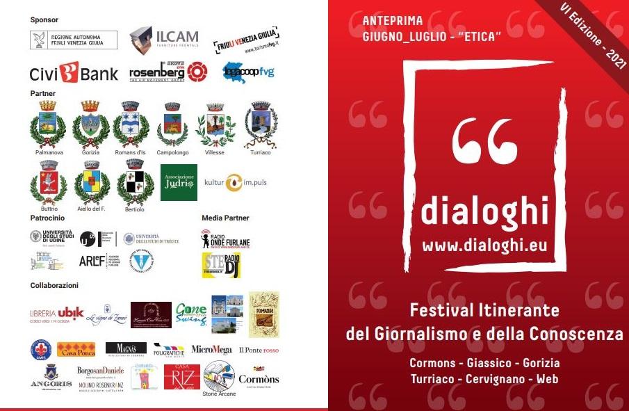 """Al via """"dialoghi"""" il Festival itinerante del Giornalismo e della Conoscenza"""